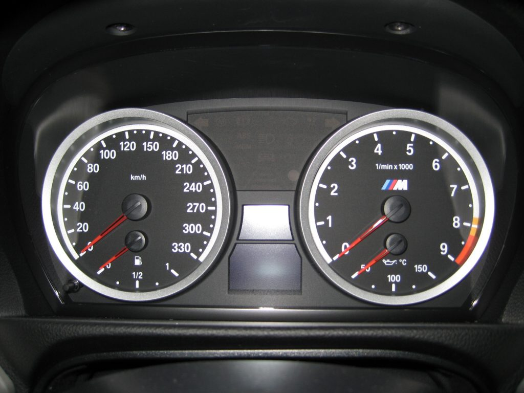 BMW E92 M3 Coupé Dashboard